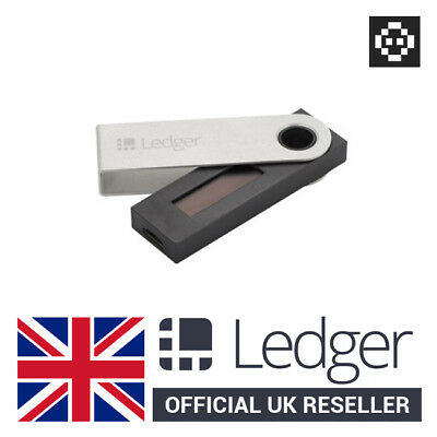 [Uk In Stock] Ledger Nano S Hardware Wallet - Bitcoin Ethereum Erc20 Tokens
