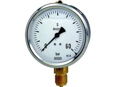 213.53.063.460.GB1 Manometer 0÷60 bar Accuracy class16 63mm Thread G 12092381