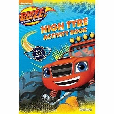 Blaze and the Monster Machines High Tyre Activity Book