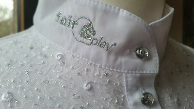 Exquisite Fair Play Nicole White Technical Show/competition Top