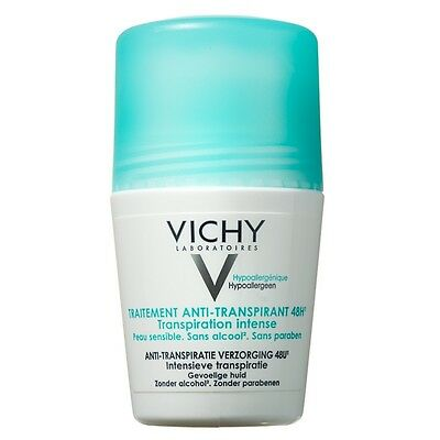Vichy 48Hr Anti-Perspirant Intense Treatment Roll On 50ml GENUINE & NEW