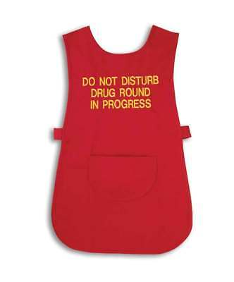 Healthcare Nurses Health Drugs Round Medical Apron Tabard Workwear - NU71