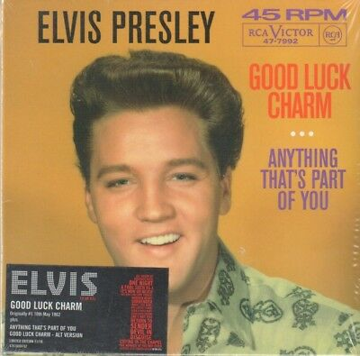 Elvis Presley: Good Luck Charm / Anything That's Part Of You (CD single)