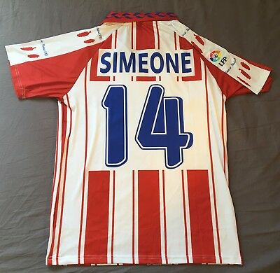 Simeone Doblete 1995-1996 Atletico de Madrid