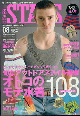 Justin Timberlake - Front Cover + Article From Japanese Magazine