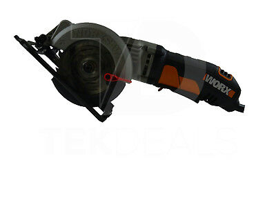 WORX Circular Saw Portable Compact 4.5in Corded Electric Power Tool 4 AMP-WX429L