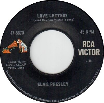 Elvis Presley: Love Letters / Come What May