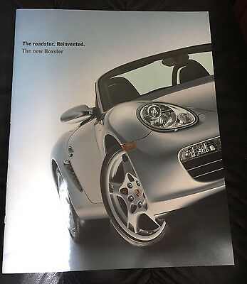 2005 Original Porsche Boxster S Dealer Sales Brochure Prospekt & CD ROM
