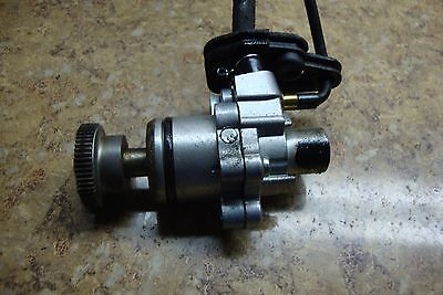 1988 Yamaha Scooter CG50 CG 50 Jog Engine Oil Pump Motor F13