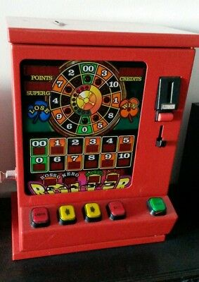 Slot Machine Digitale Video Poker  Vintage Cabinato Bar Anni 80