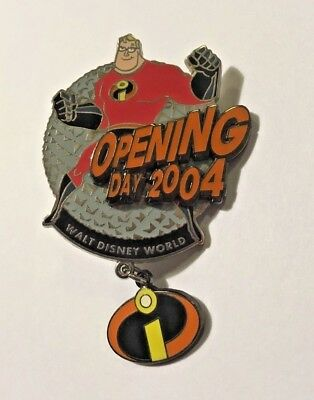 Disney Incredibles Opening Day Collection Pin (Epcot / Mr. Incredible) LE 3000