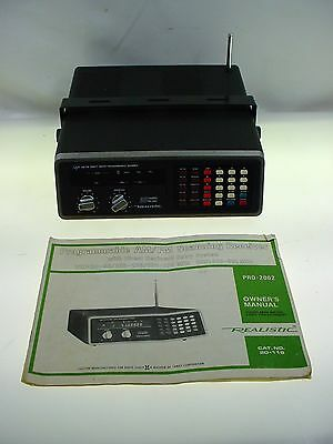 Realistic Scanner Receiver Realistic Pro 2002 50 Channel Scanner W- Manual