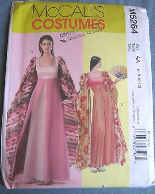 Empire Line Renaissance Uncut McCalls Pattern from 2006 Sizes 6  through 12
