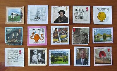 GB Used Stamps COMMEMORATIVES 2016 ISSUES All Different Modern Rare Kiloware (C)