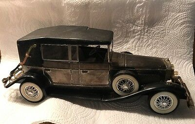 Battery operated radio car Lincoln model 1928