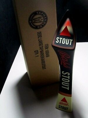 NIB Bass Stout Tall Tap Handle Beer kegerator pull ale lot IPA also available