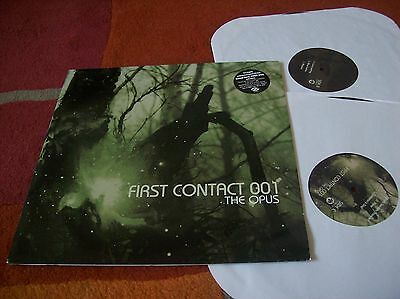 THE OPUS - first contact 001.. double vinyl LP 2002