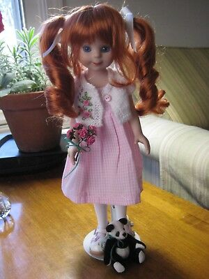 """11"""" Reimagined  Porcelain Betsy McCall Postage Stamp Doll & Original Outfit"""