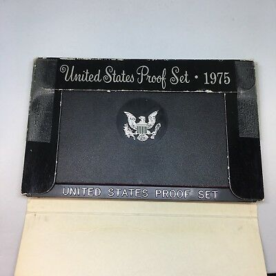 1975 S US Mint Proof Coin Set In Original Box