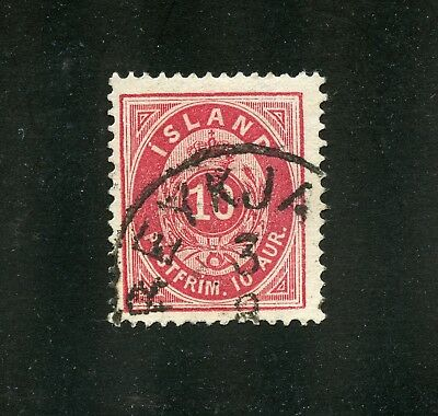 Iceland Used Stamp #11