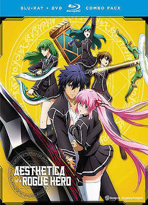 Aesthetica of a Rogue Hero: Complete Series [2 Discs Blu-ray] Anime New & Sealed