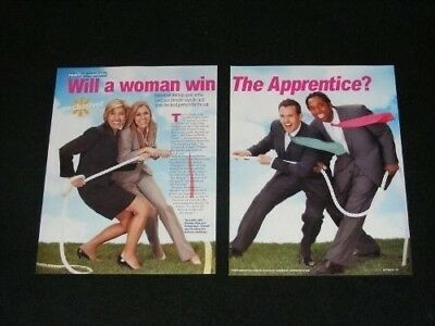 THE APPRENTICE magazine clippings lot No1