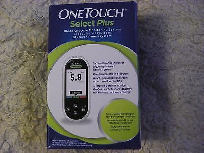 One Touch Select Plus Blood Glucose Meter