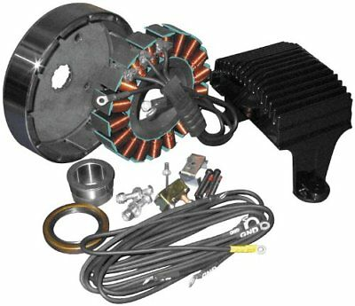 2008 Harley Davidson FLHR Road King 50A 3Ph Charging System Ce-84T-07 498422