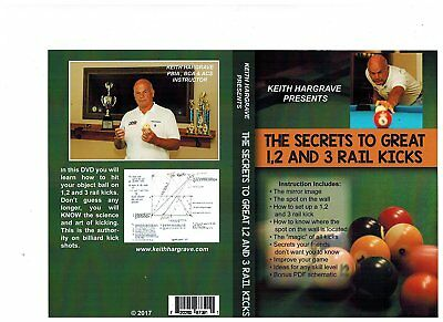The Secrets to Great 1,2 and 3 Rail Kicks DVD Video by Keith Hargrave