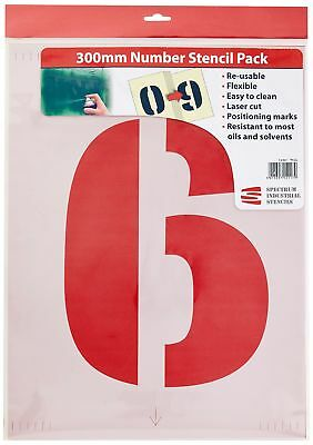 Scan 9416 300mm Number Stencil Kit -Brand New
