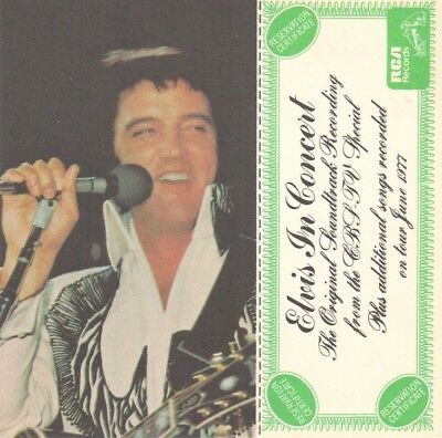 Elvis Presley: RCA reservation certificate for Elvis In Concert LP