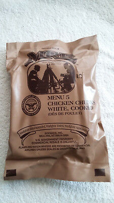 Mre U.s Ration Pack Menu 5, Military, Camping, Hiking, Fishing, Survival