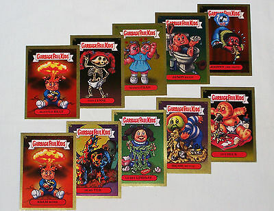 GARBAGE PAIL KIDS 2003 All New Series 1 Complete GOLD FOIL Set 50 Cards VG -ANS1