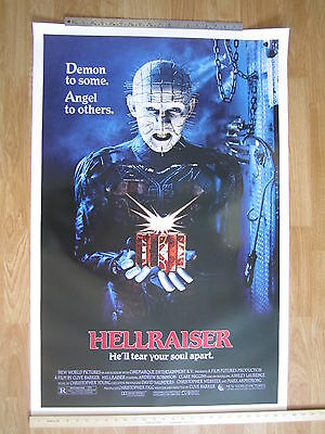 HELLRAISER   Original American One Sheet 1987 movie Poster