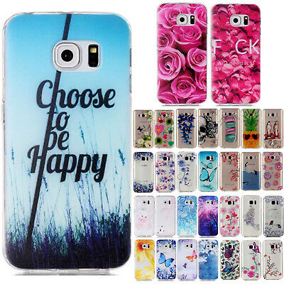 For Samsung Galaxy Phones Shockproof TPU Rubber Silicone Ultra Slim Case Cover