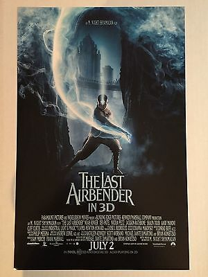 "THE LAST AIRBENDER ""B"" 11x17 PROMO MOVIE POSTER"