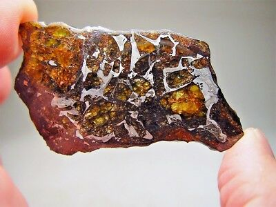 Museum Quality! Large Gorgeous Crystals! Stable! Amazing Admire Meteorite 29 Gms