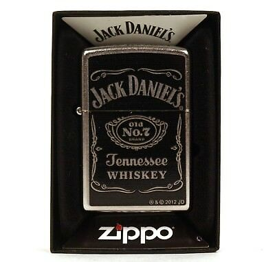 Zippo JACK DANIEL'S STREET CHROME  Originale Accendino Lighter original from USA