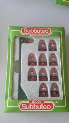 Subbuteo Hw Manchester Utd F.a. Cup Winners 1985 Ref. 574