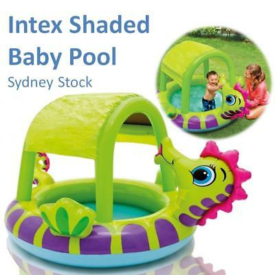 INTEX Inflatable Swimming Pool Kids Toddler Baby Paddle Garden Water Sun Shade