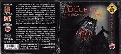 Ken Follett / Les Piliers De La Terre / Ellen /livre Audio Mp3