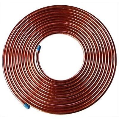 10mm Copper microbore pipe tube plumbing gas DIY oil central heating