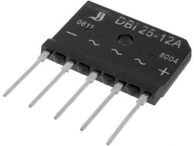 DBI25-12A Three phase bridge rectifier 1.2kV 25A DIOTEC SEMICONDUCTOR