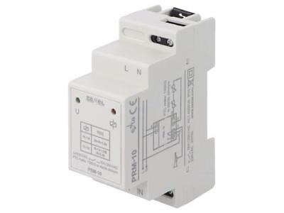 PRM-10 Module temperature monitoring relay Mounting DIN -20÷60°C ZAMEL