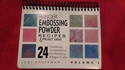 Ranger Embossing Powder Recipes & Project Ideas 24 Tantalizing Combinations