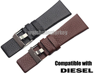 High Quality Leather Watch Strap Band Fits Diesel New Fast Shipping Cheapest