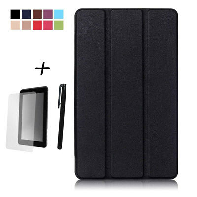 """Huawei MediaPad M3 8.4"""" Case - Slim Lightweight Smart Cover Stand + Extras"""
