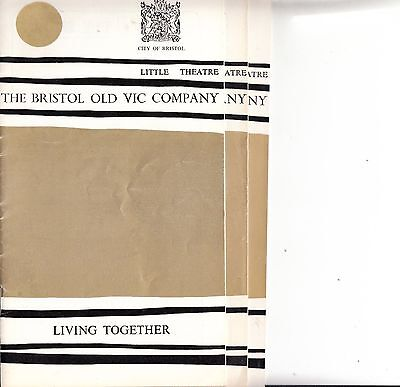 3 Bristol Theatre Programmes from 1977 (Little Theatre)