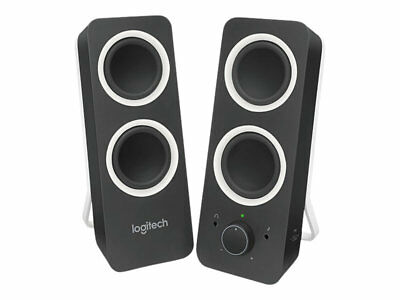 NEW! Logitech 980-000812 Speakers  Z200 Midnight Black Uk