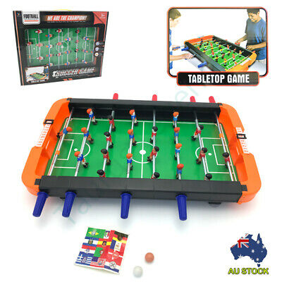 Classic Soccer Football Table Top Game 8 Rods Kids Sports Toy Christmas Gift